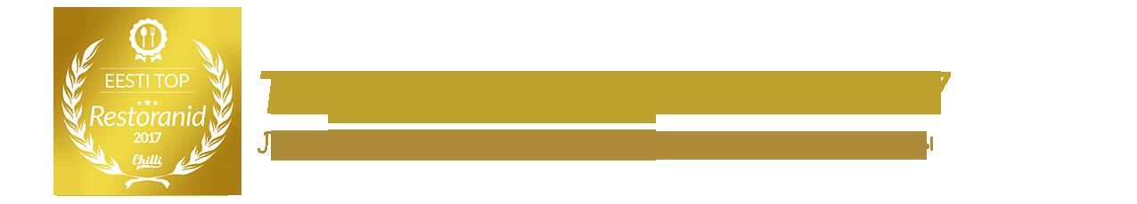 ТОП рестораны Эстонии в 2016 году