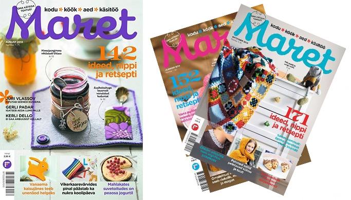 64b01749b2c Kodu, köök, aed, käsitöö! Kodu- ja elustiiliajakirja ''Maret'' 3 kuu  tellimus -66% | Chilli.ee