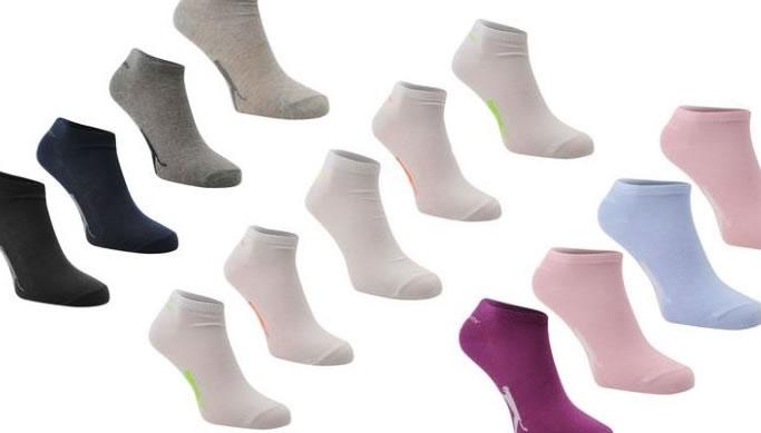 e29d37ff153 soodusklubi.ee - 5 paari kvaliteetseid Slazenger sääreta sokke naistele  -68% - chilli.ee