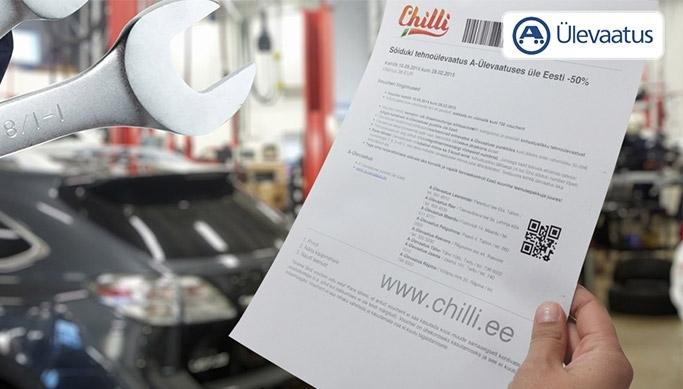 4f7624776a5 soodusklubi.ee - Sõiduki tehnoülevaatus A-Ülevaatuses üle Eesti -50% -  chilli.ee