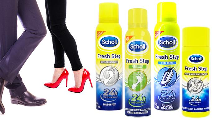 0a0d6087b99 Värskendavad ja higistamisvastased Scholl spreideodorandid ja jalapuuder |  Chilli.ee