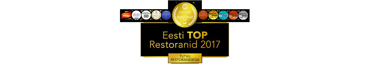 Eesti TOP Restoranid 2017