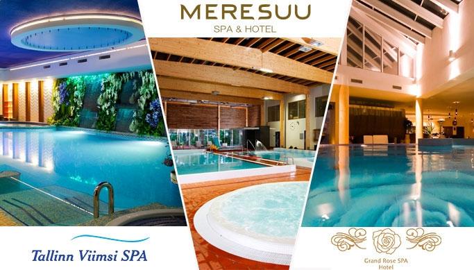 7d0acd5b9c4 Lõõgastav spaapuhkus Viimsi SPA, Grand Rose või Meresuu SPA hotellides kuni  -48% | Chilli.ee