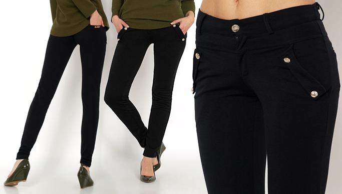 65441d86182 Klassikalised ja mugavad mustad püksid naistele   Chilli.ee