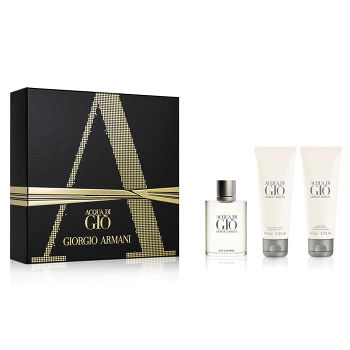 3a232c78673 Giorgio Armani Acqua di Gio komplekt (EDT 100 ml + ASB 75 ml + SGE