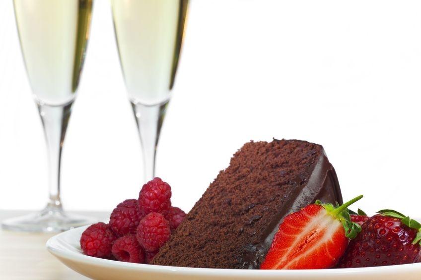 Картинки с днем рождения торт вино